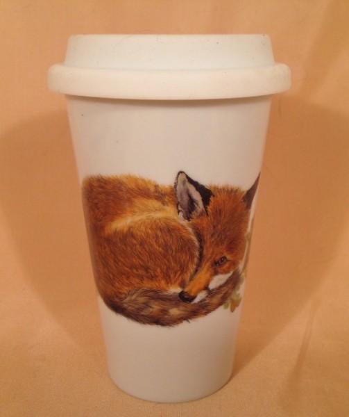 "Coffee-to-go-Becher ""Fuchs"""