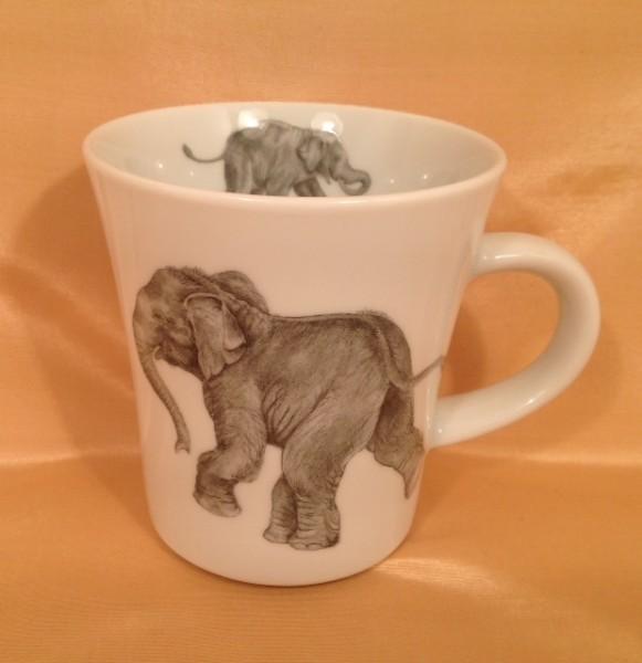 "Kaffeebecher ""Spielende Elefantenkinder 2"""