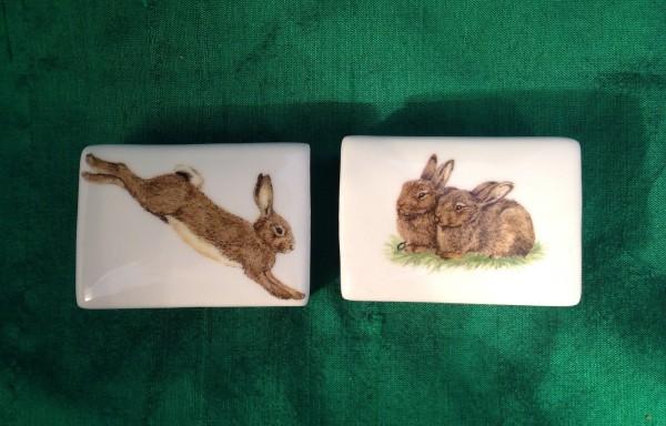 """Streichhölzerset """"Kaninchen"""", 2-teilig"""