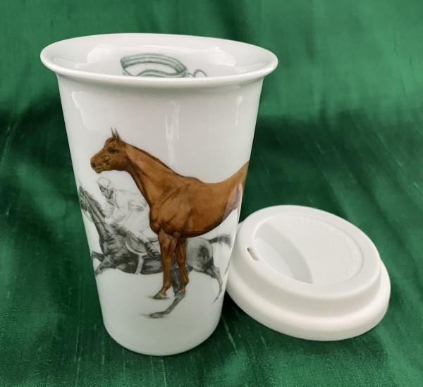 """Coffee-to-go-Becher """"Pferd"""""""