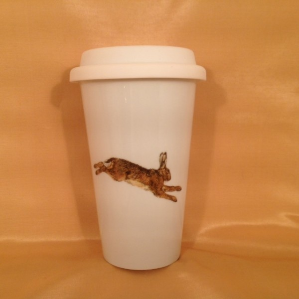 """Coffee-to-go-Becher """"Hase 2"""""""