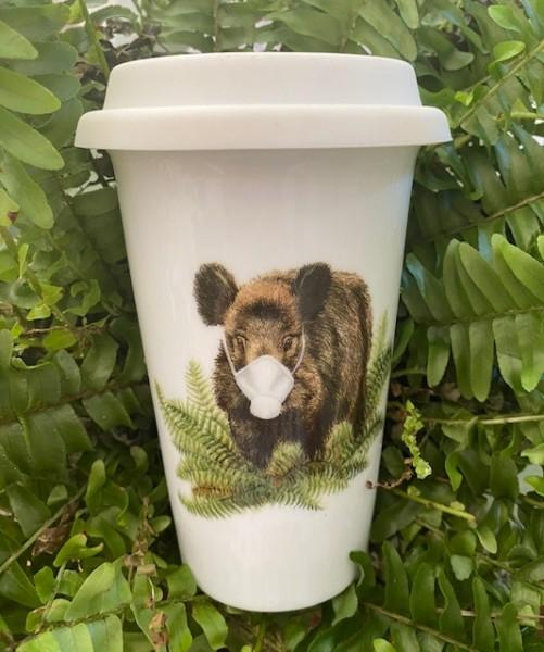 Coffee-to-go-Becher Corona-Keiler
