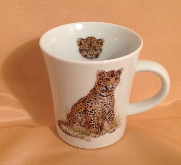 """Kaffeebecher """"Leopard"""""""