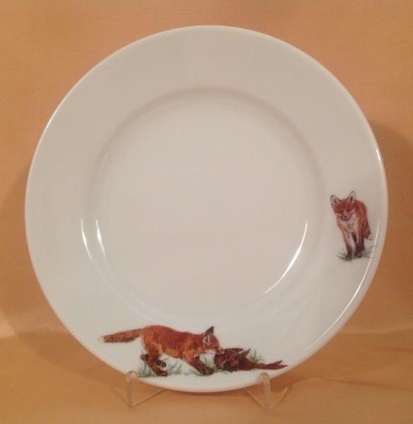 """Frühstücksteller """"Füchse"""" Ø 20,5 cm"""