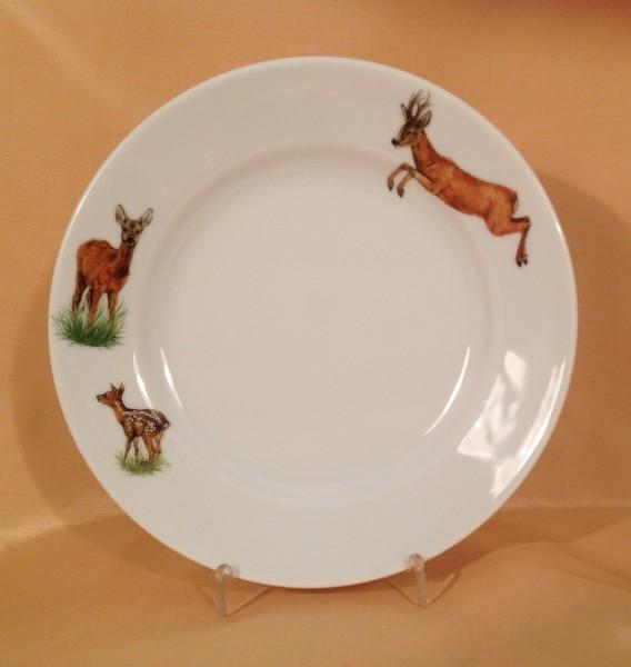 """Frühstücksteller """"Reh"""" Ø 20,5 cm"""