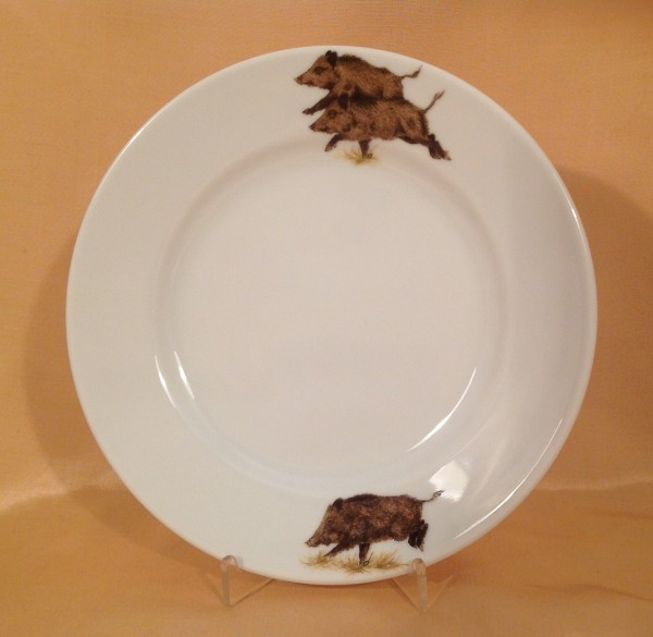 """Frühstücksteller """"Wildschwein"""" Ø 20,5 cm"""