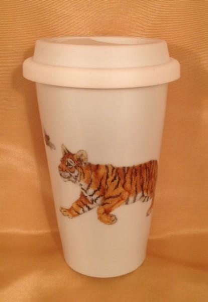 "Coffee-to-go-Becher ""Tigerkinder"""