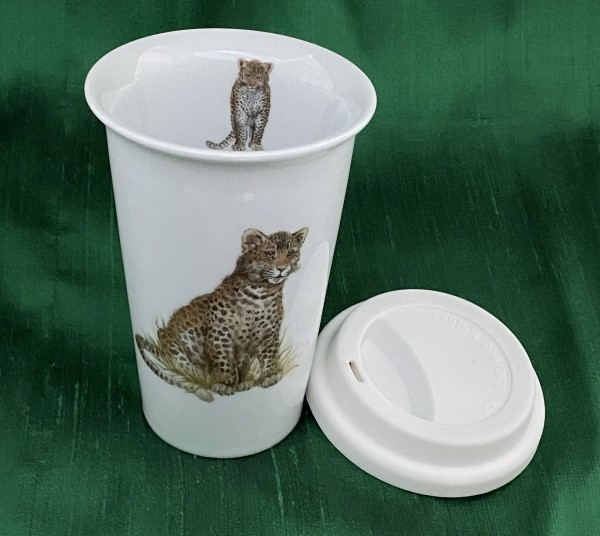 "Coffee-to-go-Becher ""Leopard"""