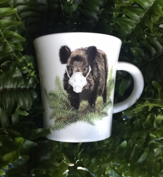 Kaffeebecher Corona-Keiler