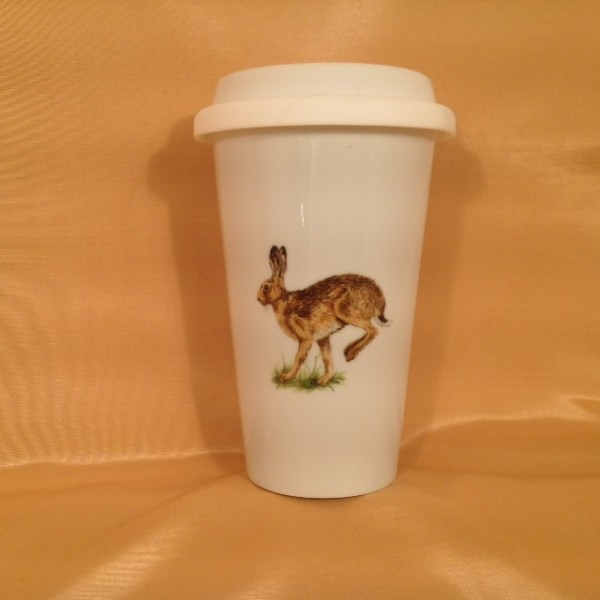 """Coffee-to-go-Becher """"Hase"""""""