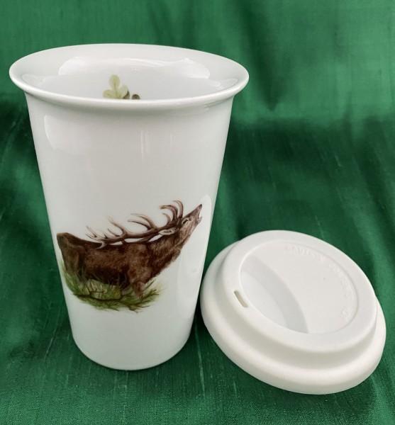 "Coffee-to-go-Becher ""Hirsch"""